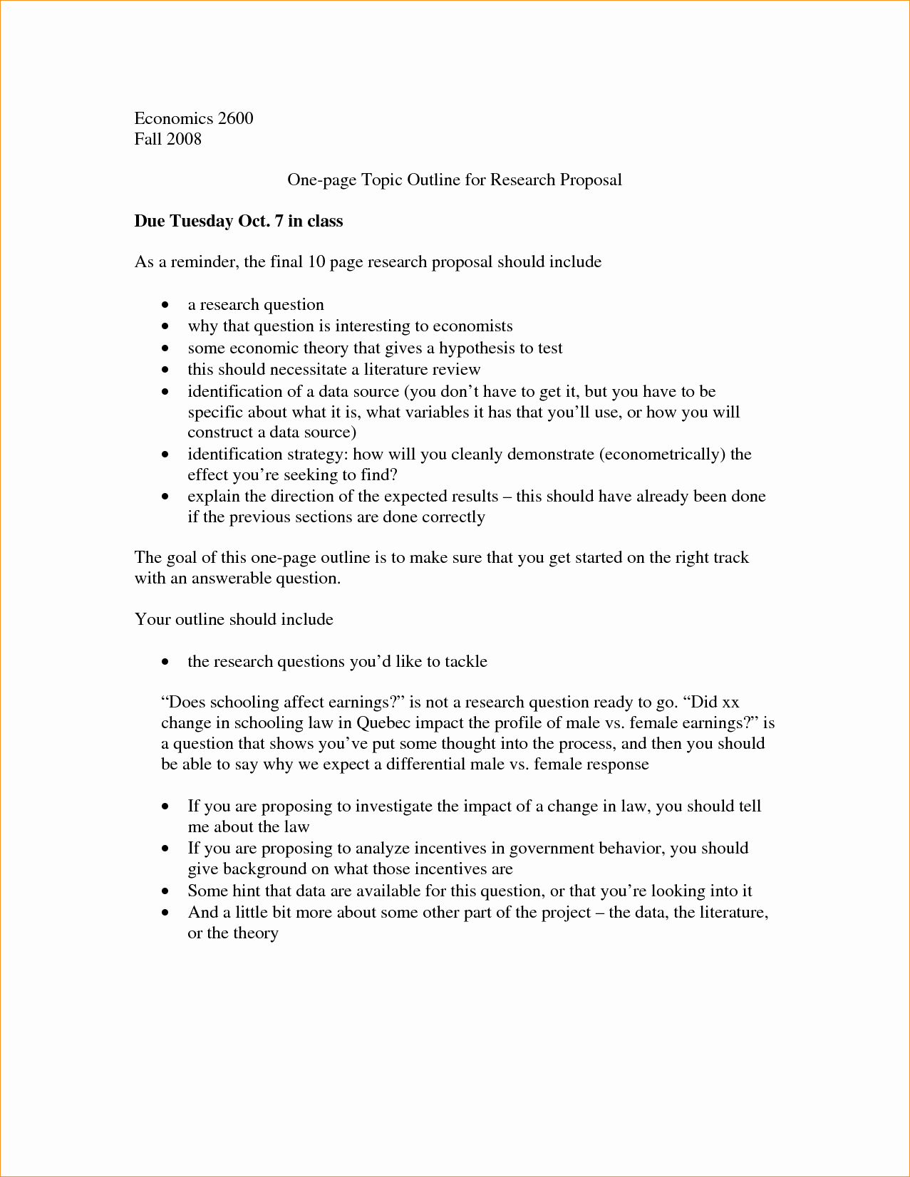 One Page Proposal Template Best Of Research Proposal How to Write One