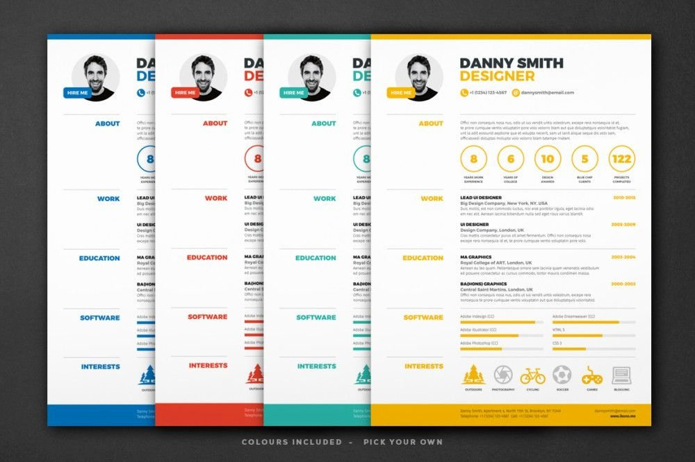 One Sheet Template Word Fresh E Page Resume Template Word Best Resume Collection