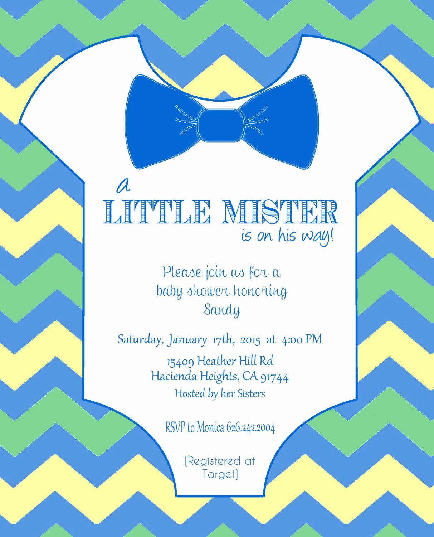 Onesie Invitation Template Printable Lovely Esie Baby Shower Invitation Template Diy Editable Template