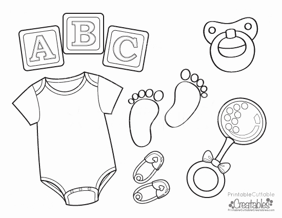 Onesies Template Printable Free Awesome Baby Esie Free Printable Coloring Page