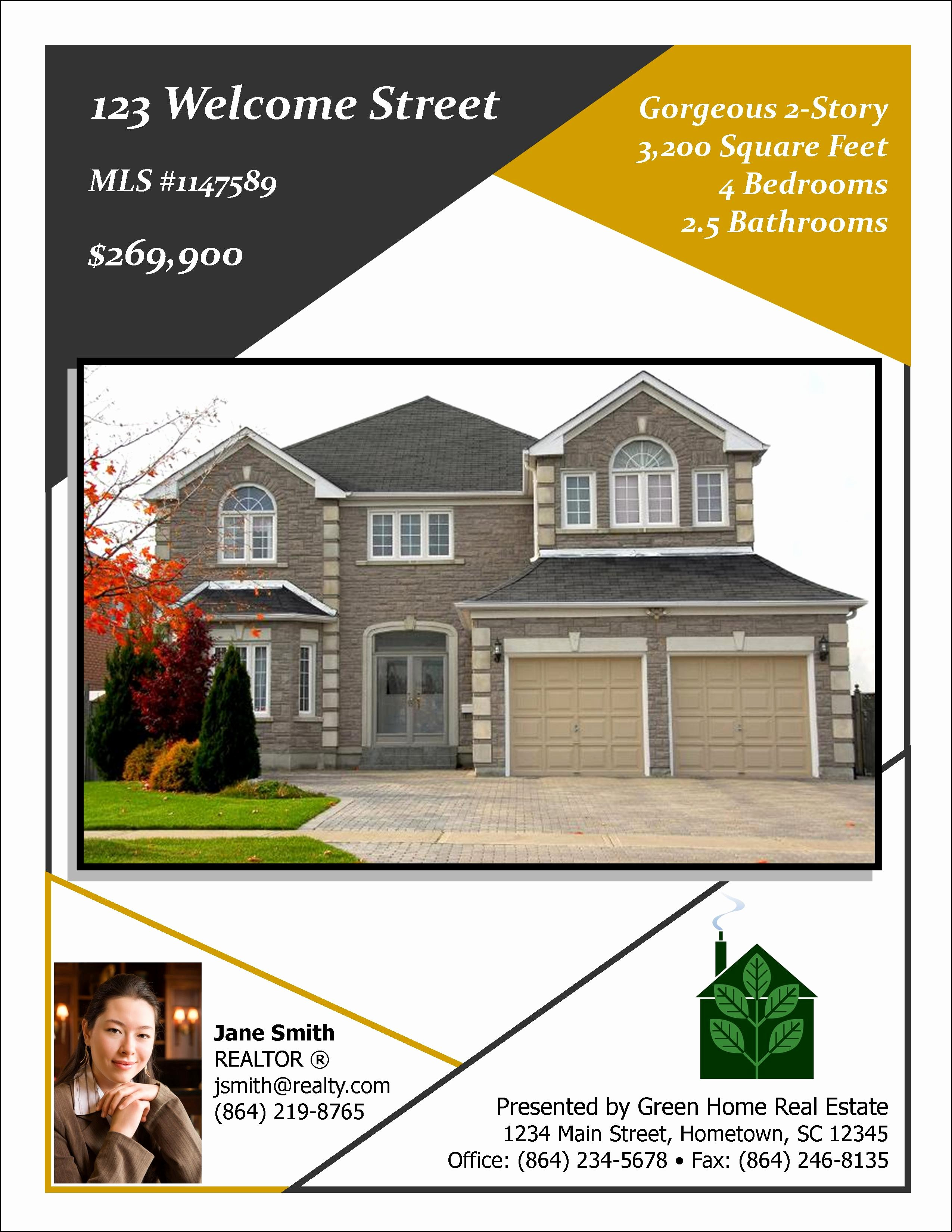 Open House Flyers Template Best Of Open House Designs