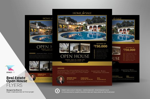 Open House Flyers Template Inspirational Open House Flyer Templates – 39 Free Psd format Download