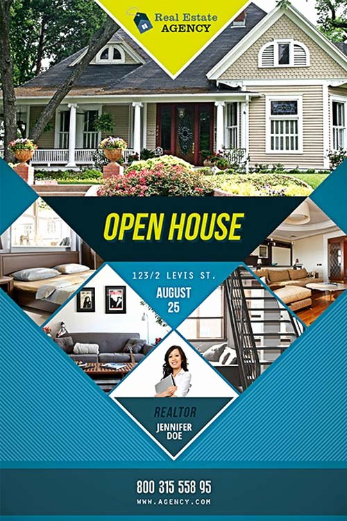 Open House Flyers Template Luxury Free Open House Flyer Template Download Psd for Shop