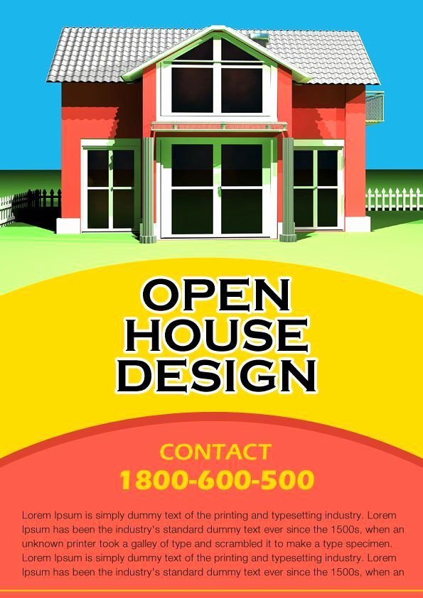 Open House Flyers Template Unique 34 Best Images About Open House Flyer Ideas On Pinterest