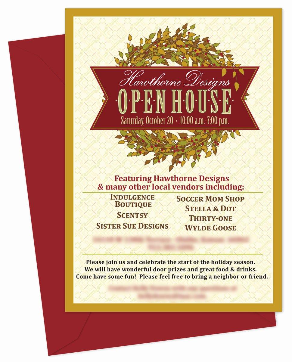 Open House Invitation Template Elegant Business Open House Invitation Templates