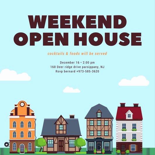 Open House Invitation Template Luxury Customize 498 Open House Invitation Templates Online Canva