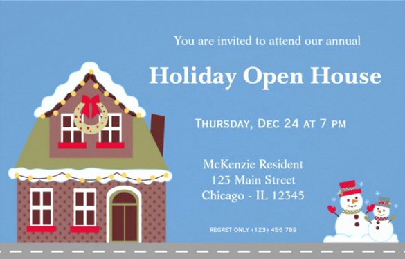 Open House Invitation Template New 22 Open House Invitation Templates – Free Sample Example