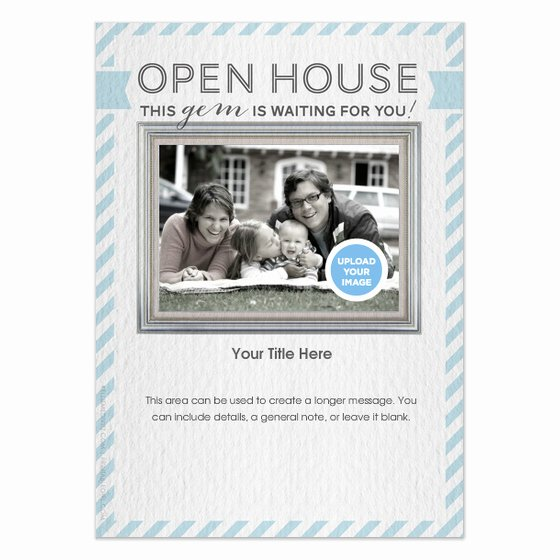 Open House Invitation Template New Real Estate