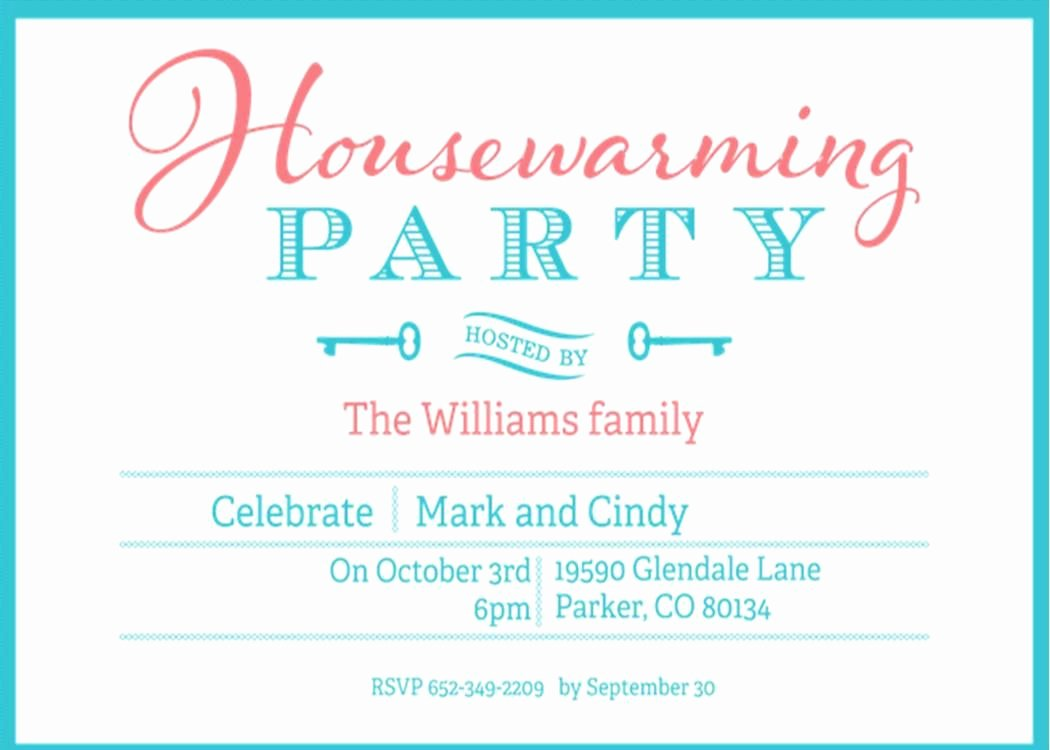 Open House Invite Template Beautiful Housewarming and Open House Invitations