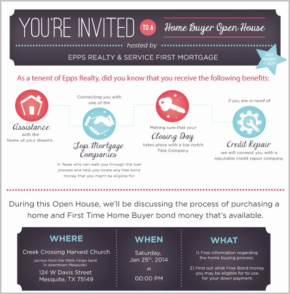 Open House Invite Template Best Of 14 Open House Invitation Templates Free Psd Vector Eps