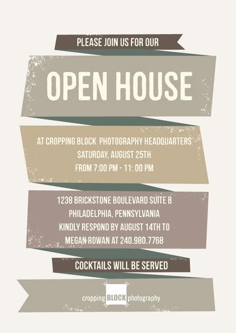 Open House Invite Template Best Of Business Open House Invitation Template Templates