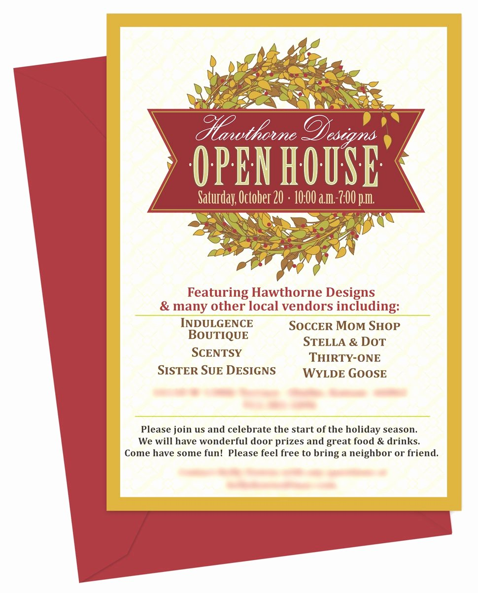 Open House Invite Template Elegant Business Invitation Templates Mughals