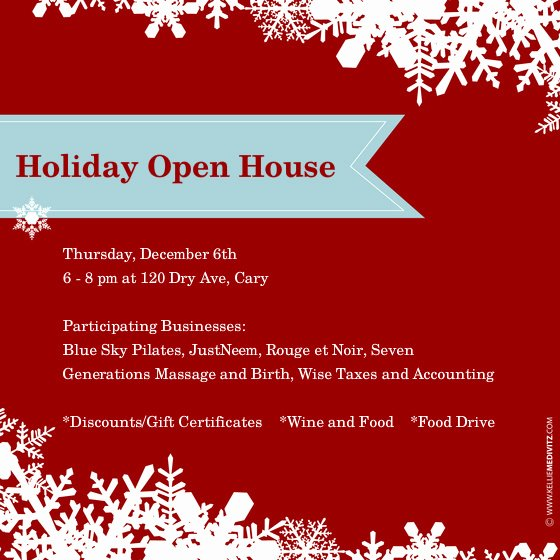 Open House Invite Template Fresh 10 Best Of Christmas Open House Invitation Template