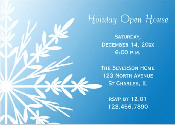 Open House Invite Template Inspirational 22 Open House Invitation Templates – Free Sample Example