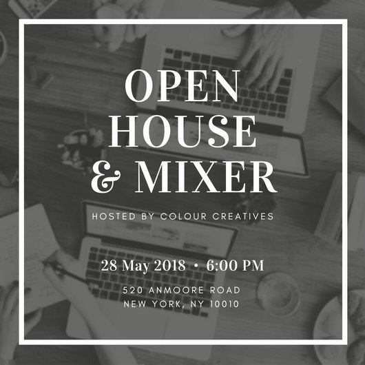 Open House Invite Template Lovely Open House Invitation Templates Canva