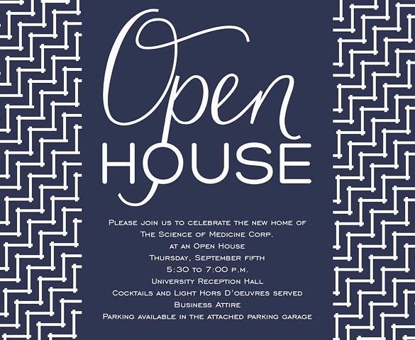 Open House Invite Template New 14 Open House Invitation Templates Free Psd Vector Eps