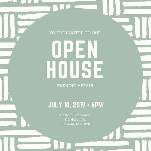 Open House Invite Template New Open House Invitation Templates Canva