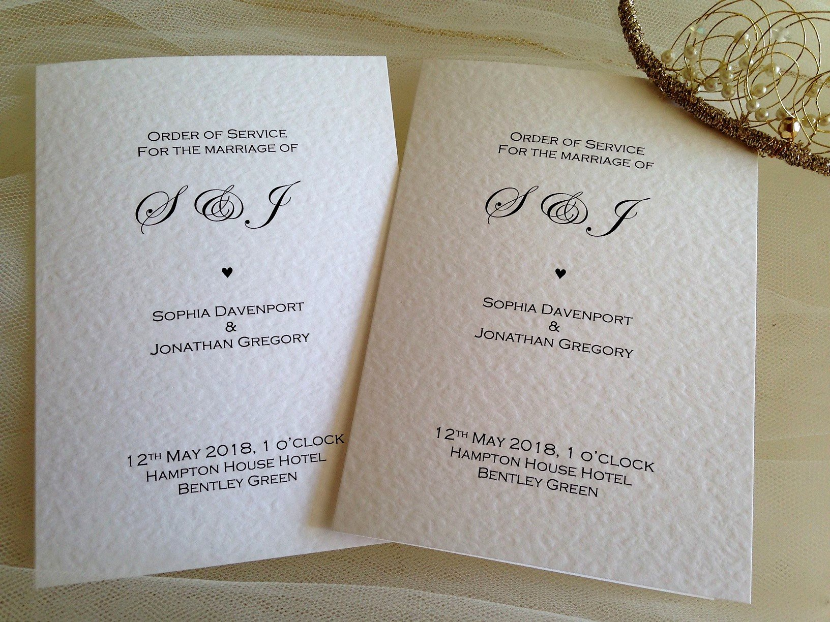 Order Of Service Template Awesome Wedding order Of Service Books