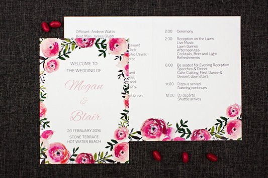 Order Of Service Template Beautiful Floral order Service Be My Guest