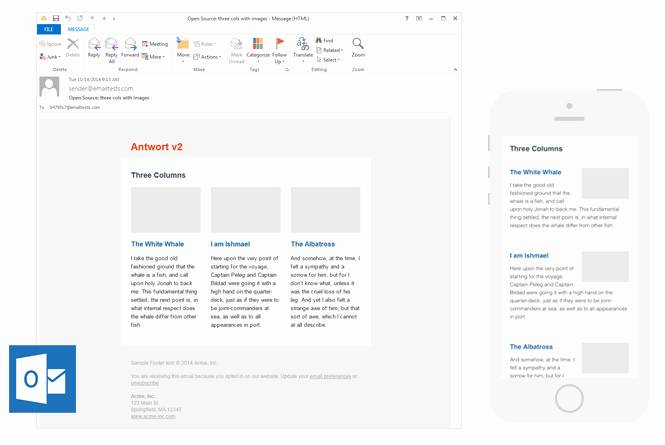 Outlook Email Newsletter Template Best Of 9 Places to Find Quality Email Newsletter Templates In 2017