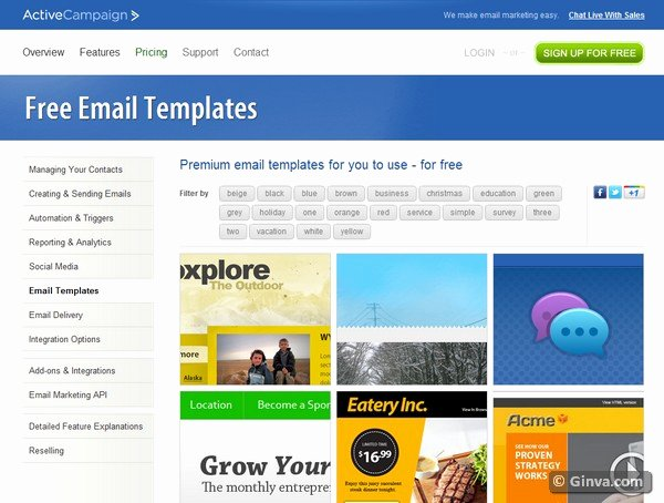 Outlook Email Newsletter Template Lovely 10 Excellent Websites for Downloading Free HTML Email