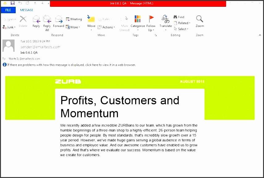 Outlook Email Newsletter Template Lovely 6 Make Outlook Newsletter for Free Sampletemplatess