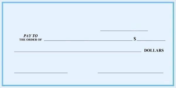 Oversized Check Template Free Beautiful Blank Check Register Template Free Templates Resume
