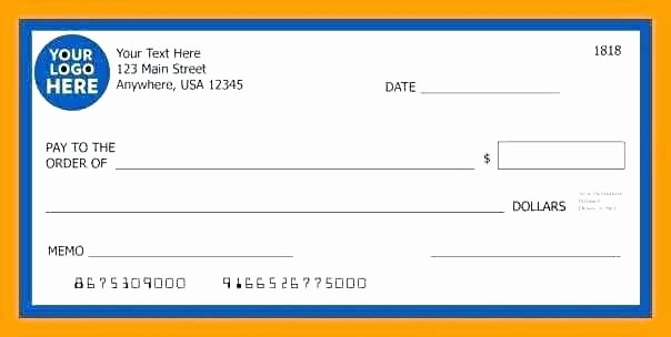 Oversized Check Template Free New Large Check Template – Munitycasts