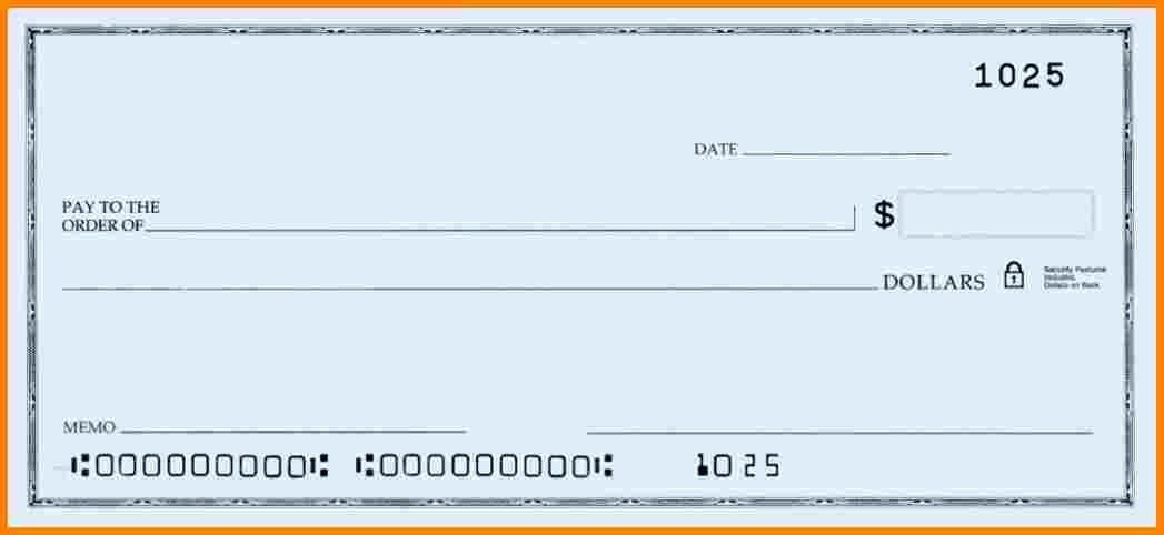 Oversized Check Template Free Unique Free Printable Big Check Template