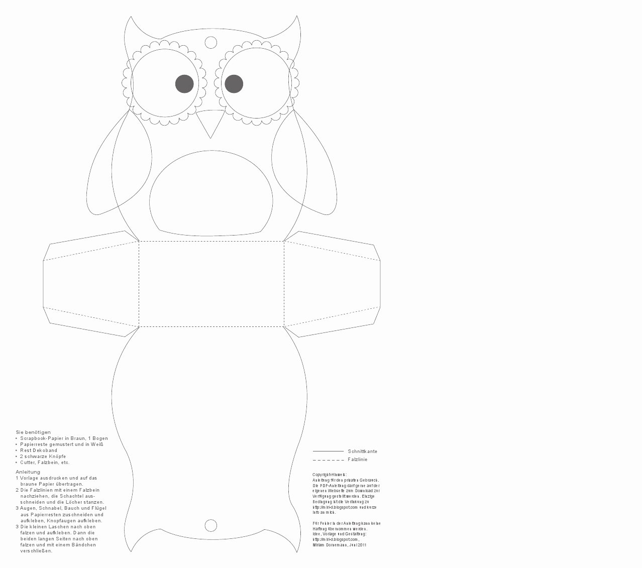 Owl Cut Out Template Lovely Paper Owl Teacher Gift Inspired by Family