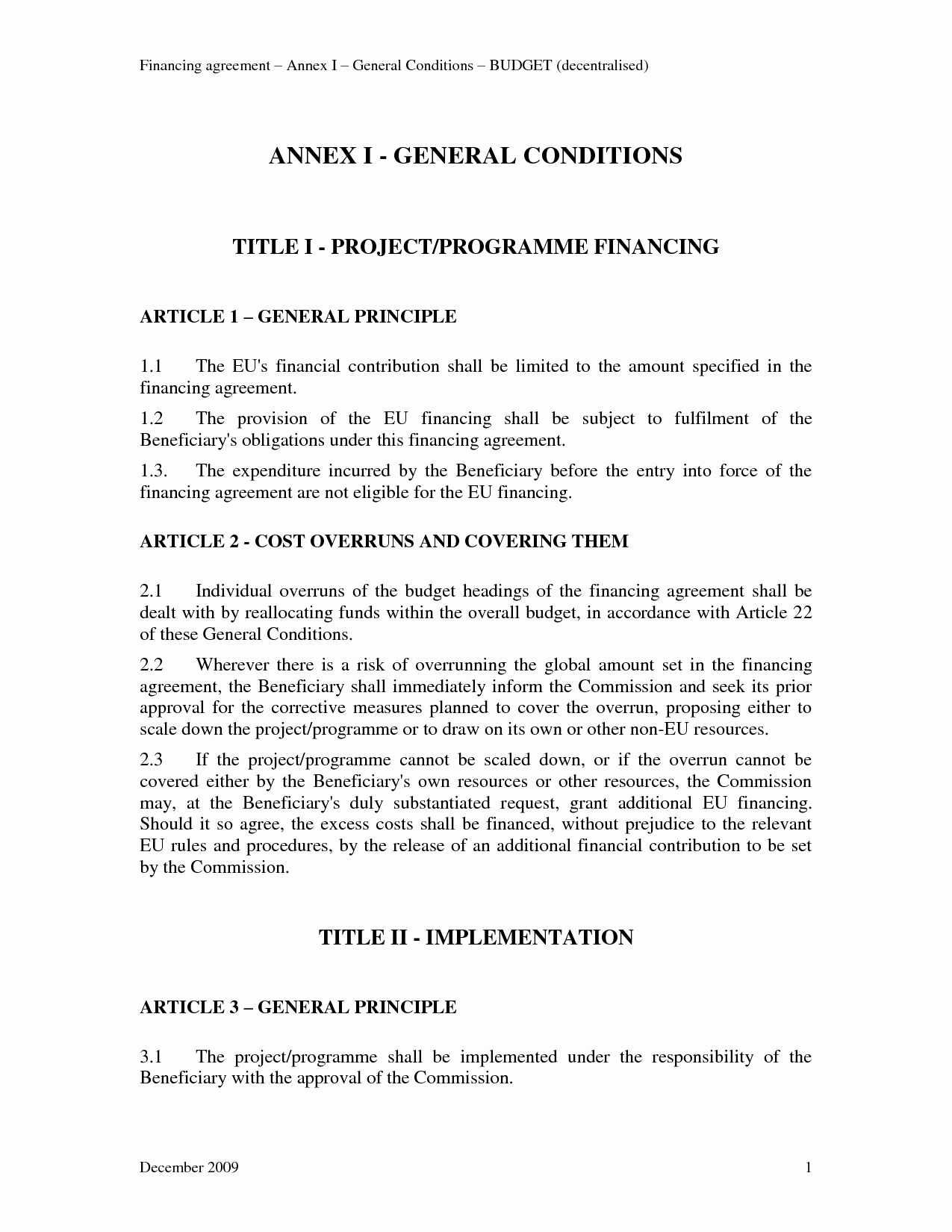 Owner Finance Contract Template Inspirational 13 Best Of Financing Agreement Sample Financial