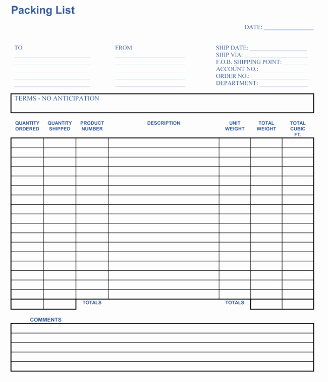 Packing List Template Excel Awesome Packing List Template