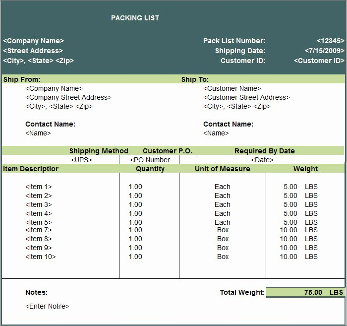 Packing List Template Excel New 24 Packing List Templates Pdf Doc Excel