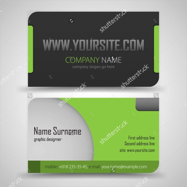 Pages Business Card Template Awesome 36 Modern Business Card Templates Pages Psd Word Ai