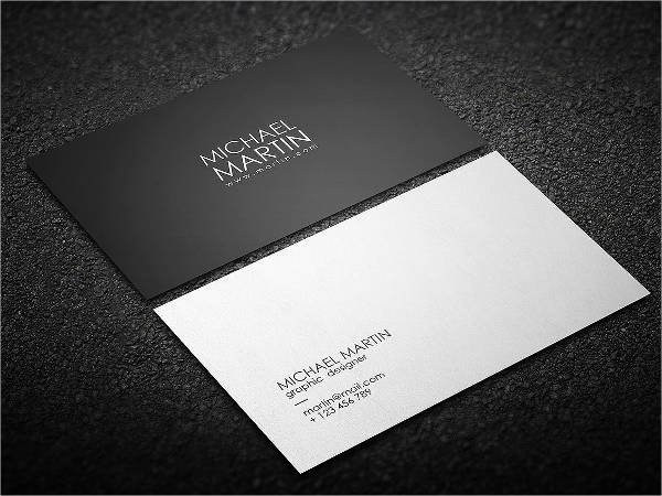 Pages Business Card Template Beautiful 14 Minimalist Business Card Templates Illustrator
