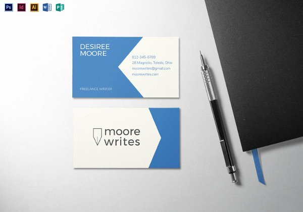 Pages Business Card Template Beautiful 36 Modern Business Card Templates Pages Psd Word Ai