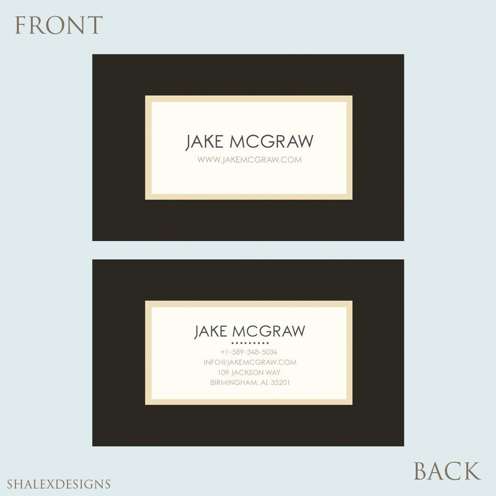 Pages Business Card Template Elegant Business Card Template Shop Templates Psd Instant