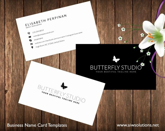 Pages Business Card Template New Simple Business Card Template Name Card Template Graphy