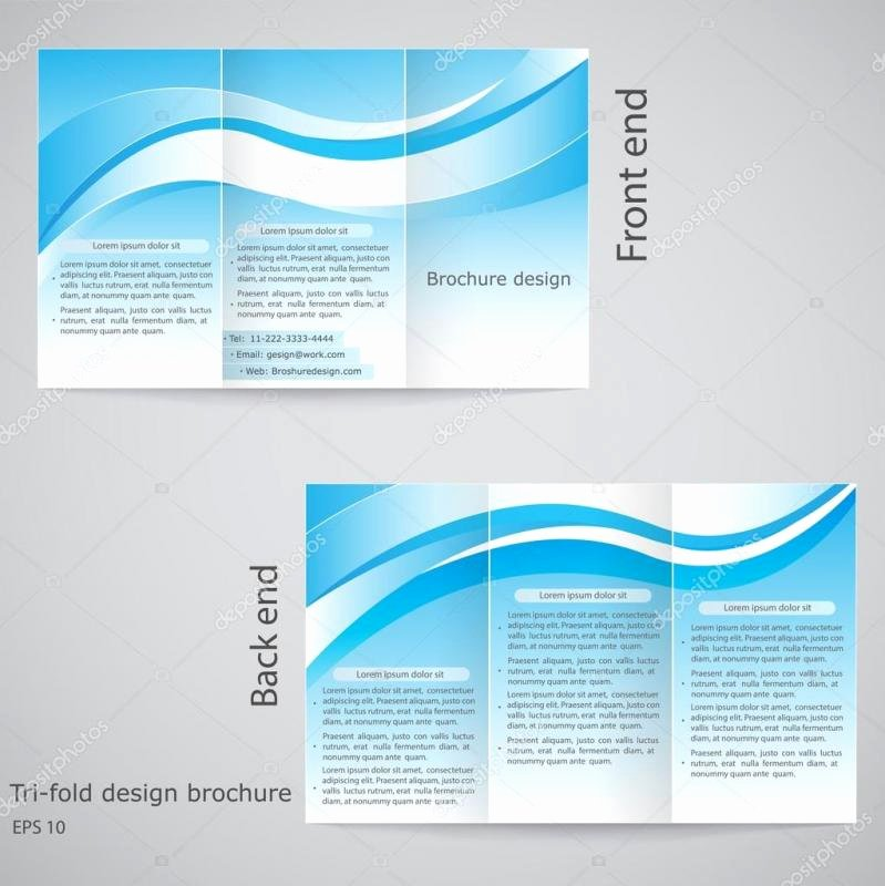 Pamphlet Template Google Docs Awesome Google Drive Brochure Template