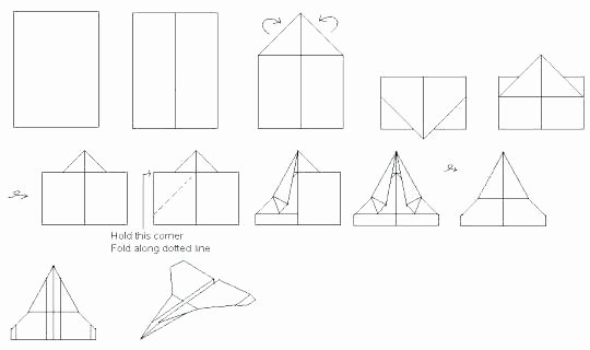 Paper Airplane Template Pdf Inspirational Paper Airplane Templates About Paper Airplanes