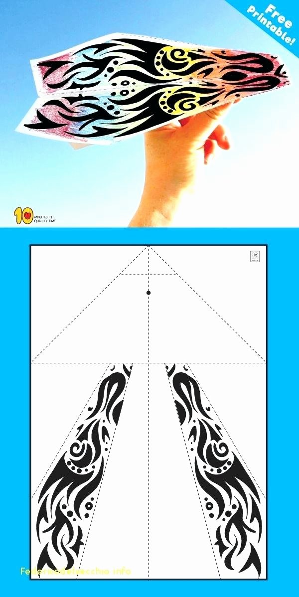 Paper Airplane Template Pdf Lovely Paper Airplane Templates About Paper Airplanes