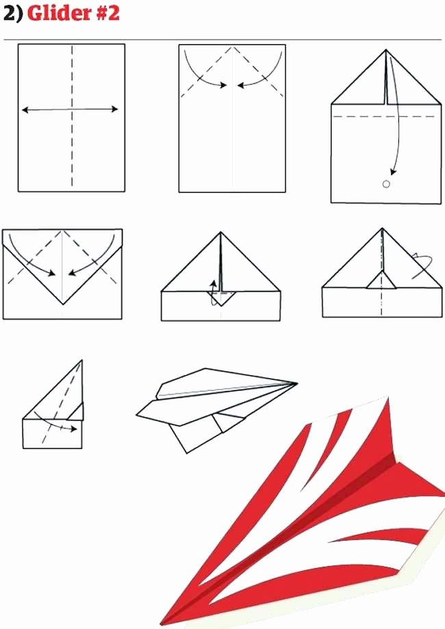 Paper Airplane Template Pdf Luxury Easy Paper Airplanes – Okashiplazafo