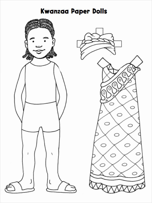 Paper Doll Clothes Template Best Of 8 Paper Doll Samples