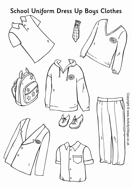 Paper Doll Clothes Template Elegant 5 Best Of Printable Cut Out Winter Clothes Winter