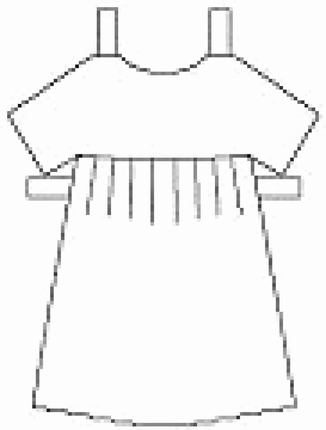 Paper Doll Clothes Template New Print Out and Cut these Free Paper Dolls Clothes and
