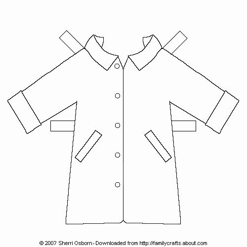 Paper Doll Clothes Template Unique Print Out and Cut these Free Paper Dolls Clothes and