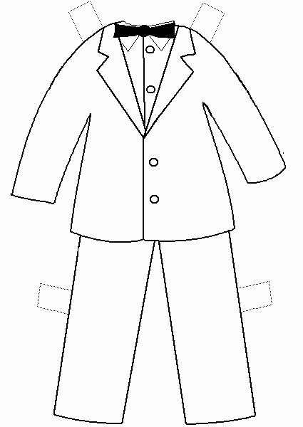 Paper Doll Clothing Template Fresh Printable Clothes Templates Paper Doll Project