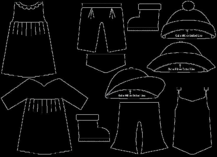 Paper Doll Clothing Template Lovely 10 Best Images About Paper Dolls On Pinterest