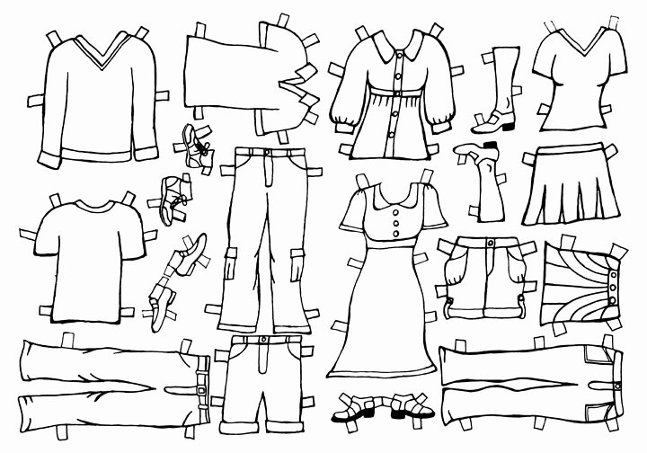 Paper Doll Clothing Template Lovely Beth & John S Wedding Paper Doll Clothes