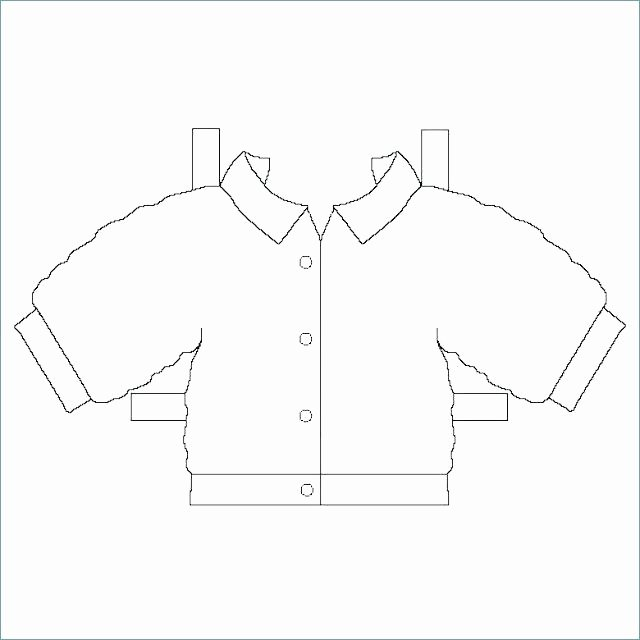 Paper Doll Clothing Template Luxury Paper Doll Clothing Paper Doll with Clothes Body Template